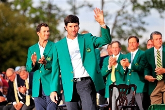 Bubba Watson secured his second Green Jacket in three years after winning the US Masters at Augusta ©Getty Images