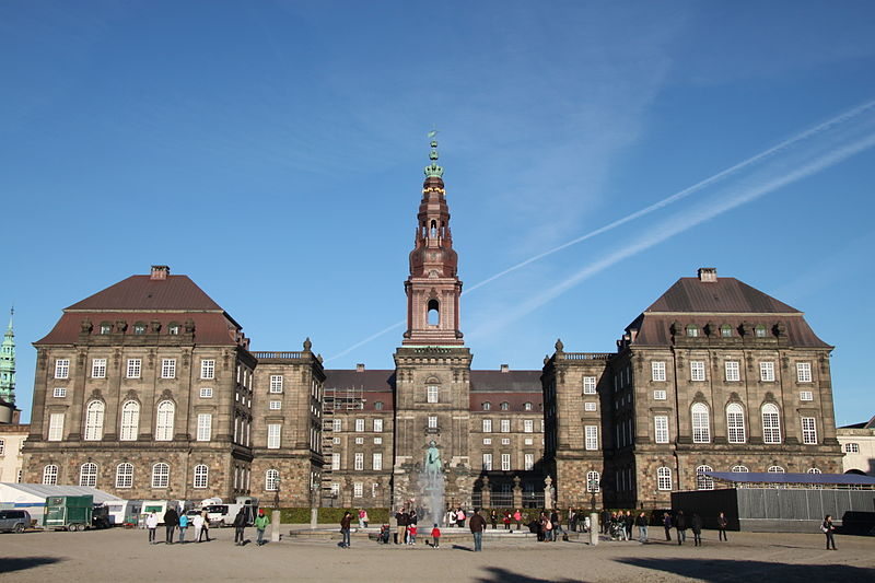 Christiansborg Palace will provide the backdrop for the 2015 World Archery Championships finals ©Wikipedia