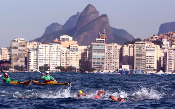 Concerns also remain in open water swimming, where pollution fears have grown since Copacabana Bay hosted events during the 2007 Pan American Games ©Getty Images