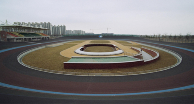 Concerns have been raised over the unusual nature of the track where track cycling at Incheon 2014 ©Incheon 2014