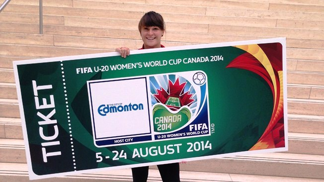 Fans have the chance to purchase tickets for Canada 2014 during a pre-sale period for Visa card holders ©FIFA