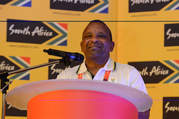 Gideon Sam, President of SASCOC, has claimed it is Africa's turn to host the Commonwealth Games ©Getty Images