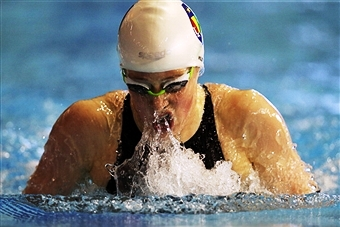Hannah Miley will be one of the stars on show at the Scottish National Open Swimming Championships this week ©Getty Images
