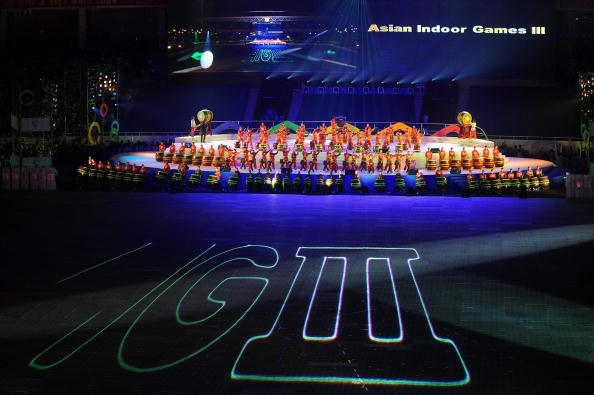 Hanoi hosted the Asian Indoor Games in 2009 ©AFP/Getty Images