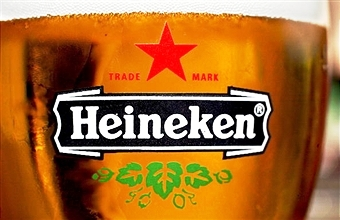 Heineken has been announced as the official beer and cider provider for Glasgow 2014 ©Getty Images