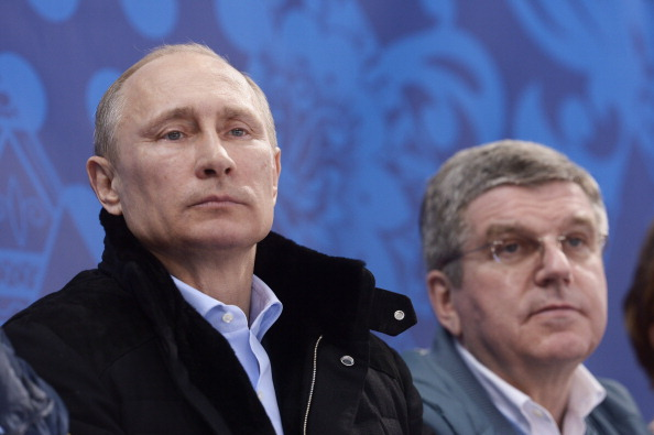 International Olympic Committee President Thomas Bach, pictured with Russian President Vladimir Putin, wants opinions from far and wide as part of the Olympic Agenda 2020 ©AFP/Getty Images