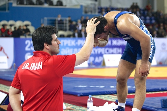 Iran dominated the first day of the FILA Asian Championships as they secured three of the five gold medals on offer ©FILA