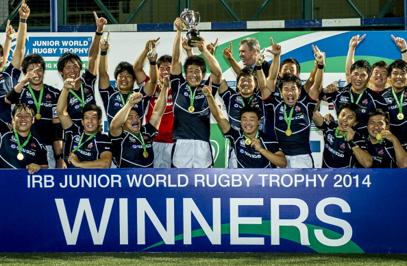 Japan have qualified for the 2015 IRB World Junior Championships following a convincing victory over Tongo in the Junior World Trophy ©Getty Images