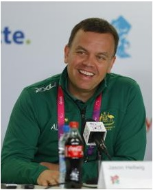 Jason Hellwig has been reappointed Chef de Mission of the Australian Paralympic team ©APC