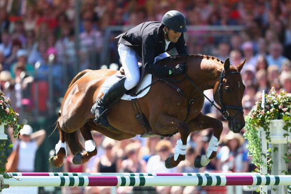 Jonathan Paget has been disqualified from last year's Burghley Horse Trials in his horse's doping case ©Getty Images