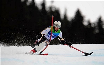 Katja Saarinen will be one of a number of Finnish Paralympic athletes to visit schools in May ©Getty Images
