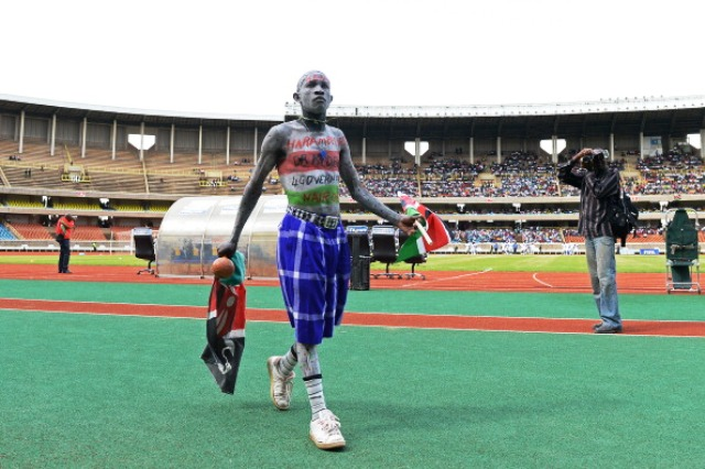 Kenyan athletes heading to the Africa Youth Games and the Glasgow 2014 Commonwealth Games will attend training camps at the Safaricom Kasarani Stadium ©AFP/Getty Images