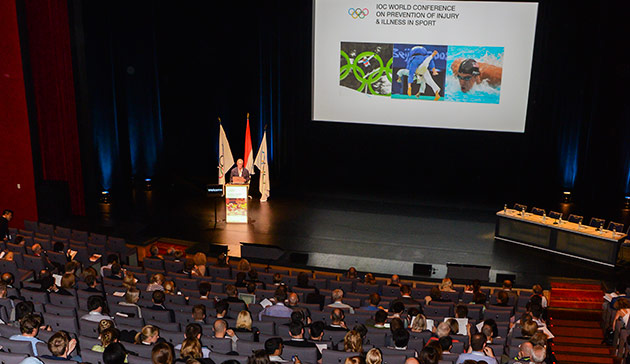 Lars Engebretsen was speaking on the sidelines of a World Conference on Injury and Illness in Sport in Monaco over the weekend ©Stéphane Danna/IOC