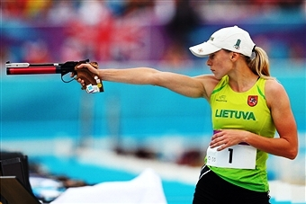 Laura Asadauskaite of Lithuania showed why she is the Olympic and world champion by taking World Cup gold in Cairo ©Getty Images
