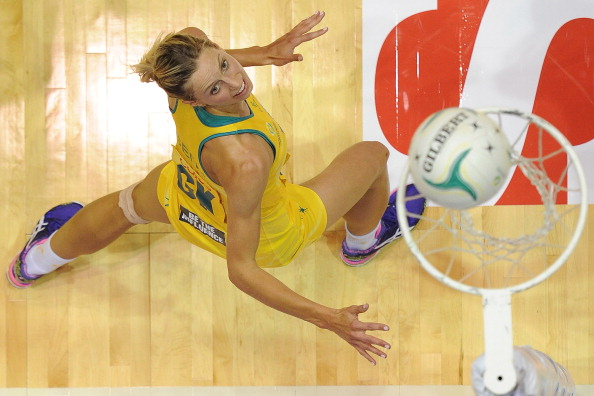 Laura Geitz is one of 18 Australian netballers heading to a Commonwealth Games selection camp next month ahead of Glasgow 2014 ©Getty Images