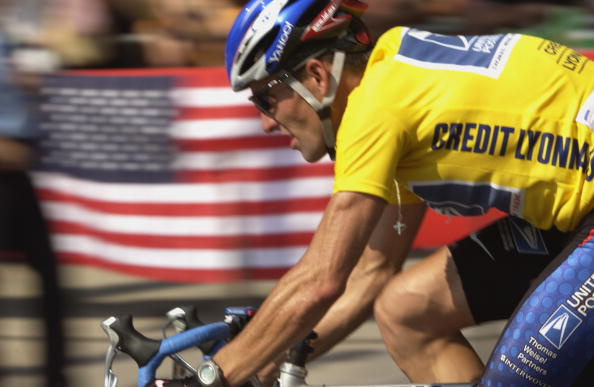 Lengthy bans have been handed to three men who worked closely with Lance Armstrong during his years with the US Postal Service team ©Getty Images