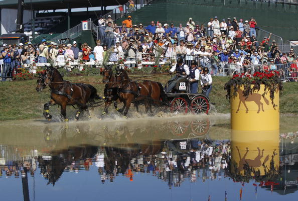 Lexington, one of two bidders for the 2018 World Equestrian Games, hosted the event in 2010 ©MCT via Getty Images