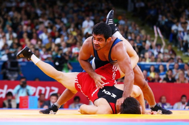 London 2012 silver medal winner Sushil Kumar will be competing in the 70kg category in Astana ©Getty Images
