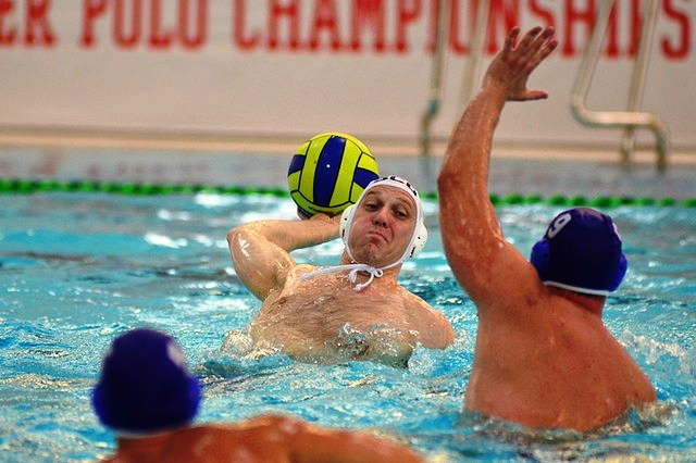 Malta's men maintained their 100 per cent start to the Commonwealth Water Polo Championships with a win over Scotland ©Scottish Swimming