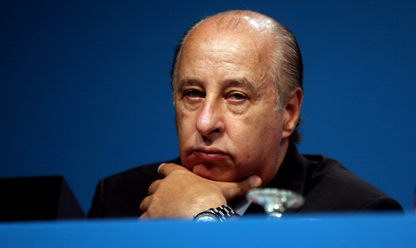 Marco Polo del Nero will take over as President of the Brazilian Football Confederation on an as yet announced date in 2015 ©FIFA via Getty Images