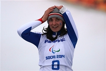 Marie Bochet has been voted the IPC's Best Female Athlete at Sochi 2014 ©Getty Images