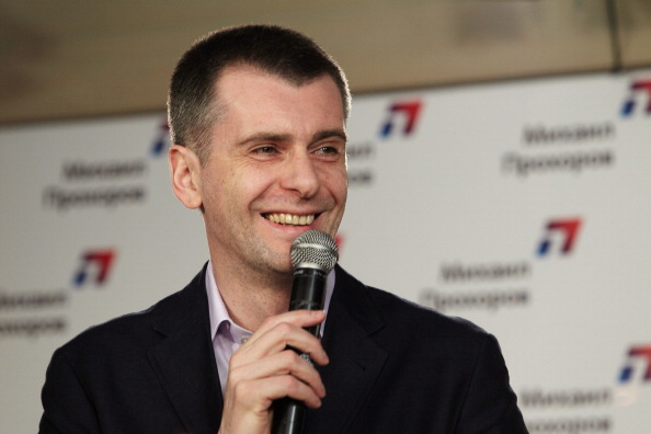 Mikhail Prokhorov is standing down from his post as head of the Russian Biathlon Union ©Getty Images