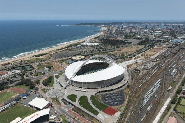 The Moses Mabhida Stadium would be the centrepiece if Durban wins its bid to host the 2022 Commonwealth Games ©Getty Images