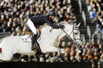 Normandy 2014 chief executive says ticket sales are best ever for World Equestrian Games ©AFP/Getty Images