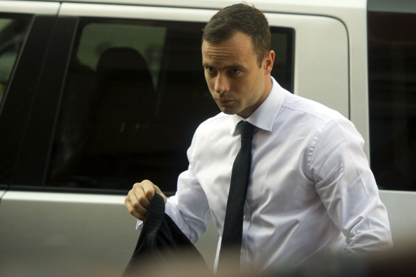 Oscar Pistorius arrives in court for a fifth day of cross-examination ©Getty Images