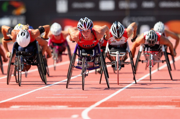 Paralympic superstar Tatyana McFadden will be among those expected to compete at the Championships ©Getty Images