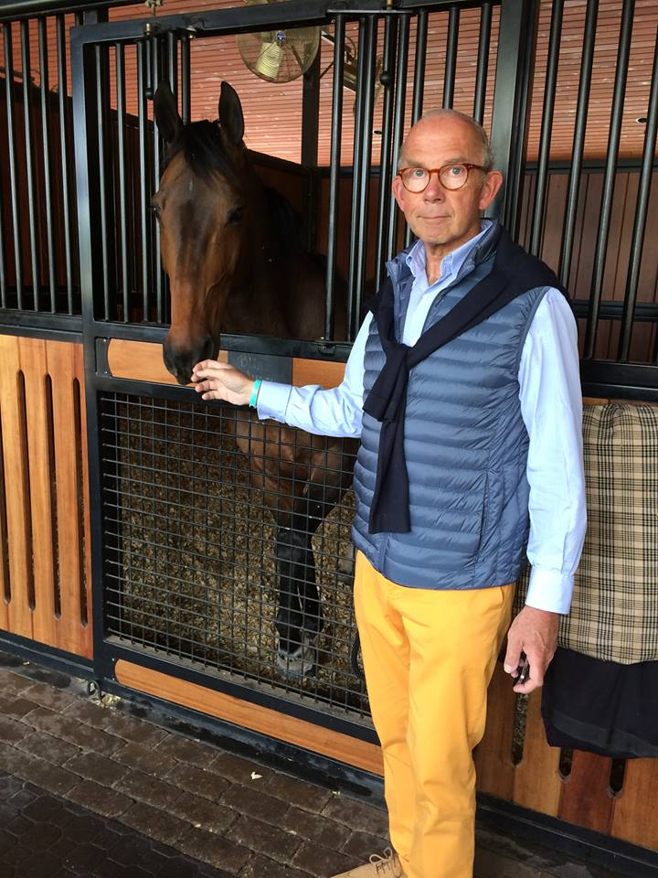 Pierre Genecand has announced plans to stand for the FEI Presidency ©Facebook