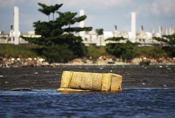 Polluted waters including Guanabara Bay remain a major concern for multiple sports ahead of Rio 2016 ©Getty Images