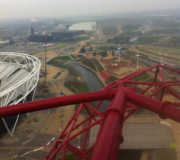 Previews of the Queen Elizabeth Olympic Park ahead of its opening on April 5 ©ITG