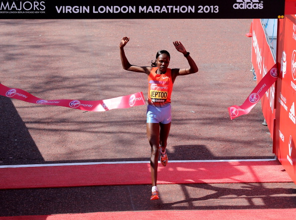 Priscah Jeptoo knows she will have her work cut out to defend her London Marathon title, but is confident she is in good shape ©Getty Images