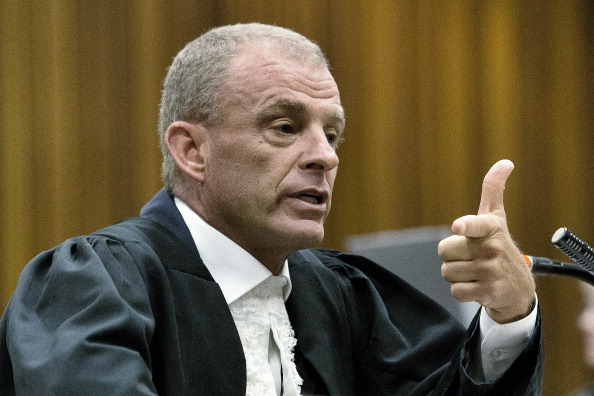 Prosecution lawyer Gerrie Nel called Oscar Pistorius a liar during another day of intense cross-examination ©AFP/Getty Images