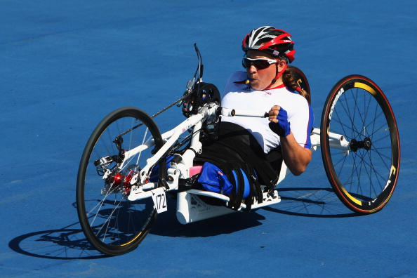 Rachel Morris won the gold medal in the time trial at Beijing 2008 ©Getty Images