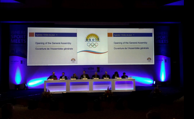 Rio 2016 was the key issue up for debate during the ASOIF General Assembly today ©Twitter