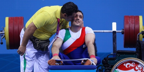 Roohallah Rostami had to settle for silver in the men's -72kg event of the 2014 Powerlifting World Championships ©Getty Images