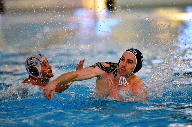 Scotland's men came out on top in a crucial battle with New Zealand at the Commonwealth Water Polo Championships ©Scottish Swimming