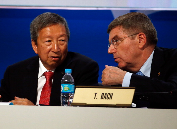 Ser Miang Ng (left) has been appointed by new IOC President Thomas Bach to head the Finance Commission ©Getty Images