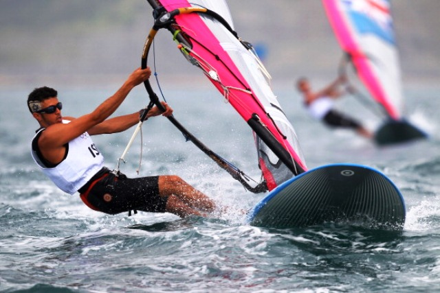 Shahar Zubari has been missing from the ISAF World Cup circuit to concentrate on his academic studies ©Getty Images