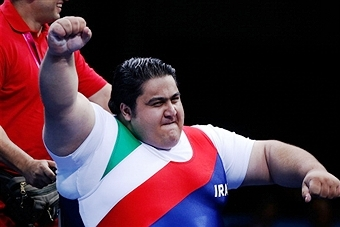 Siamand Rahman became the world's strongest Paralympian on his way to World Championship gold in Dubai ©Getty Images