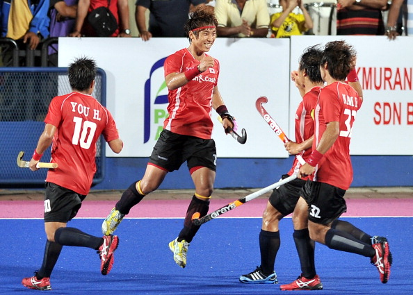South Korea go into the Men's Pahang Hockey Champions Challenge 1 as Asian champions ©AFP/Getty Images