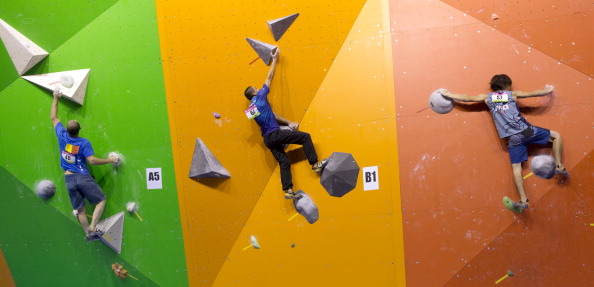 Sport climbing is one ARISF sport enjoying a growing profile following Youth Olympic inclusion ©Getty Images