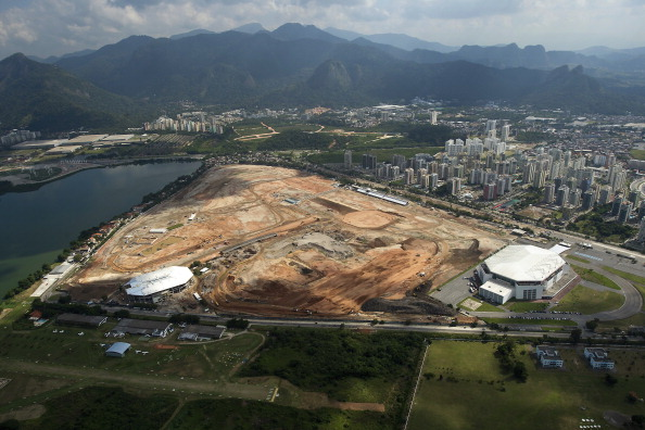 Tennis at Rio 2016 will take place on the main Olympic Park cluster at Barra da Tijuca, pictured in May, 2013 ©LatinContentWO/Getty Images