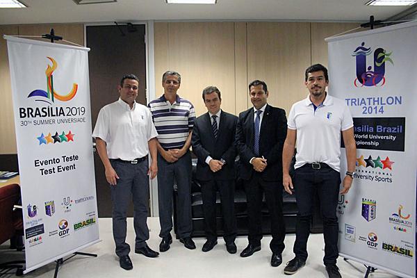 The 12th edition of the World University Triathlon Championships are set get underway in Brazil tomorrow ©CBDU