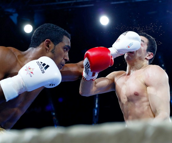 The Cuba Domadores emerged with a narrow lead after their first-leg clash with the Russian Boxing Team in Moscow ©WSB