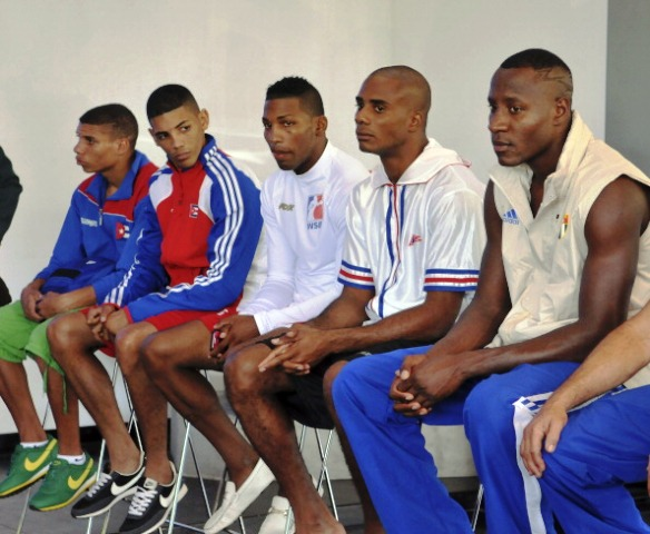 The Cuba Domadores have proven a real force in their debut season in the World Series of Boxing ©Latin Content/Getty Images