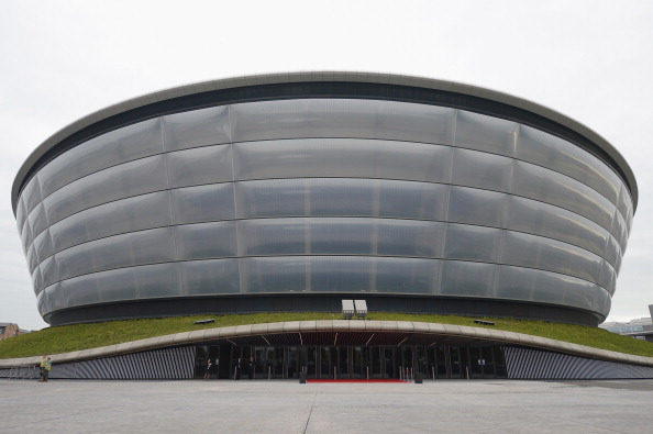The SSE Hydro, completed last year, would be the setting for the World Figure Skating Championships 2017 ©Getty Images
