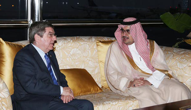 The announcement follows a visit to Saudi Arabia by IOC President Thomas Bach earlier this month ©Saudi Arabian Olympic Committee
